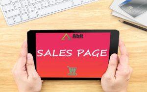 """Sales page là gì? Đẩy mạnh hiệu quả kinh doanh với sales page """"chất"""""""