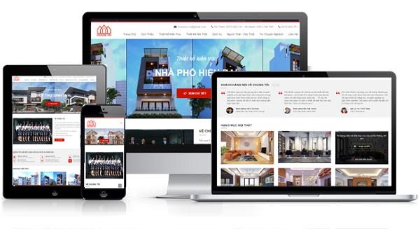 Hoàn thành thiết kế web trên google site free