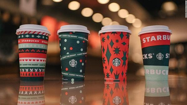Những chiếc ly đặc biệt của Starbucks