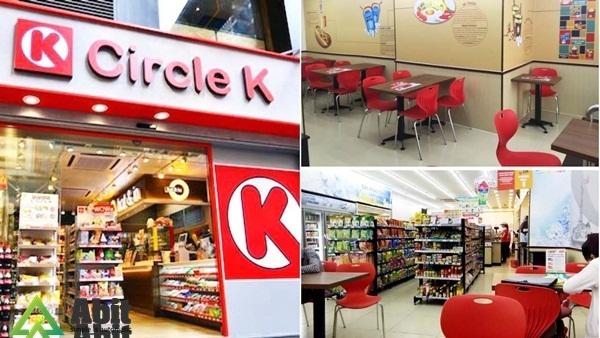 Mở cửa hàng tiện lợi circle K - tạo không gian riêng cho khách hàng