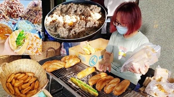 Cửa hàng bán bánh mì nhỏ