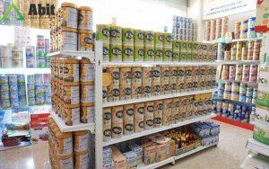 Cách trưng bày cửa hàng sữa thu hút khách hiệu quả 100%