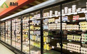 Cách sắp xếp kệ trưng bày siêu thị