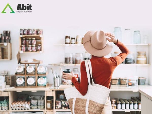 Cách trưng bày siêu thị mini - Phân khu các loại mặt hàng