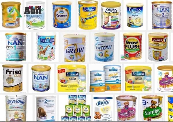 Chia sẻ kinh nghiệm mở cửa hàng sữa - Nhập nhiều thương hiệu sữa đa dạng