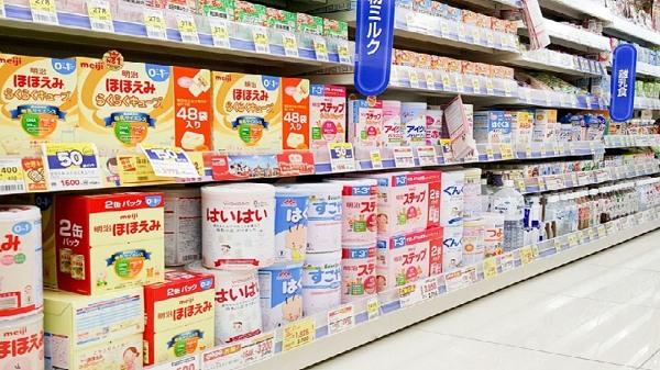 Nguồn hàng sữa cho bé ngoại nhập