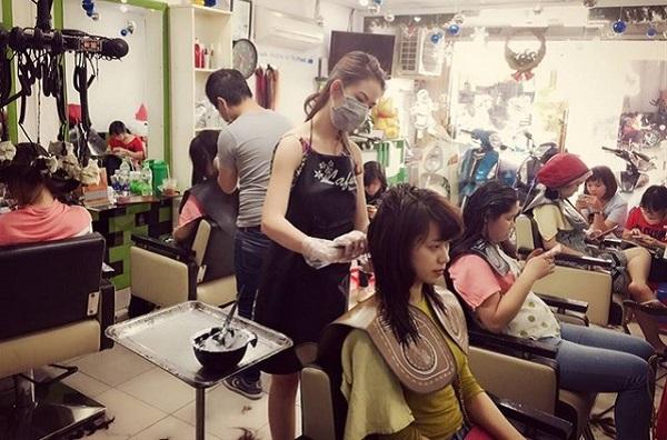Mở tiệm làm tóc