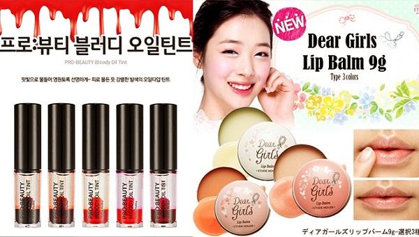Website bán mỹ phẩm từ Hàn Quốc