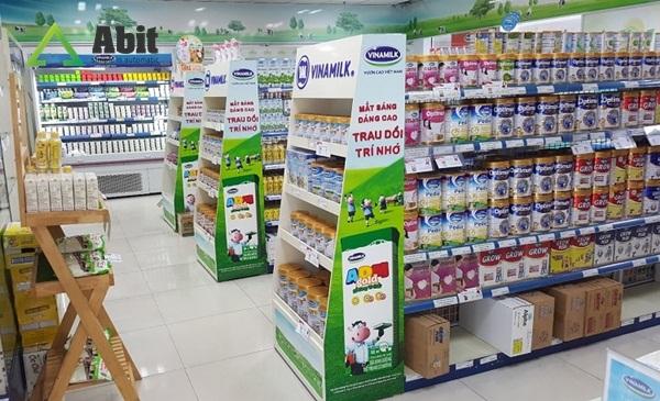 Tìm nguồn hàng sữa nhập khẩu tại các đại lý lớn trên toàn quốc